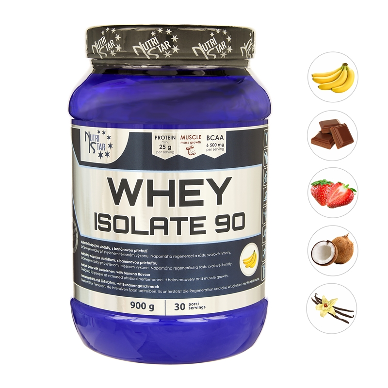 WHEY ISOLATE 900 g dóza